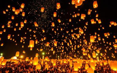 How to Enjoy Chiang Mai's Yee Peng Lantern Festival in 2019