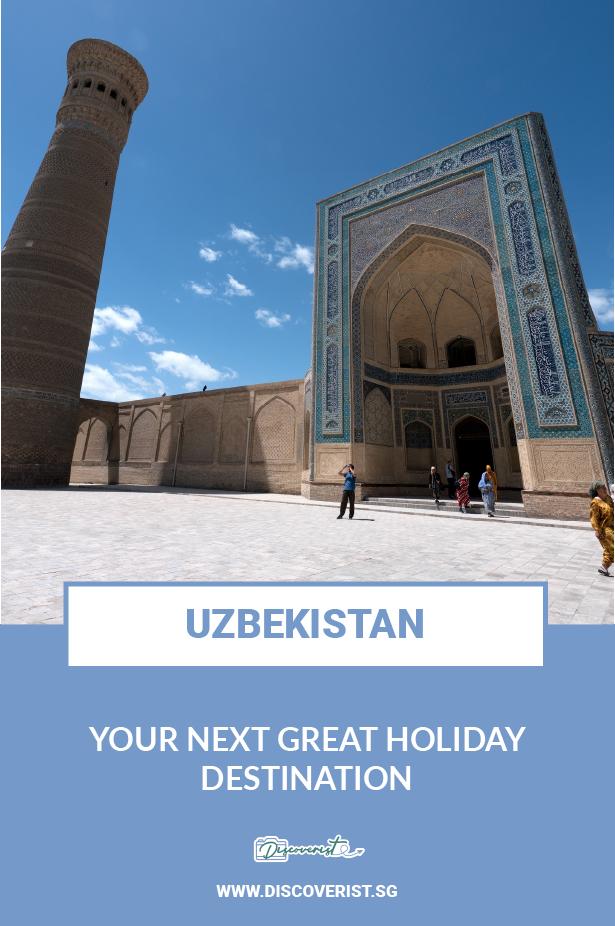 Uzbekistan - Your next great holiday destination
