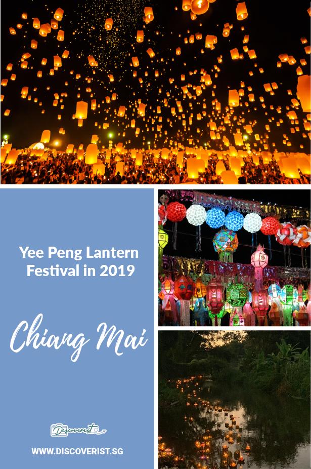 Chaing Mai - Yee Peng Lantern Festival in 2019