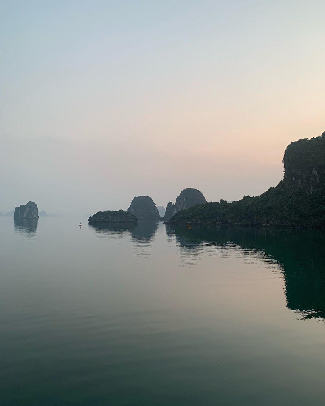 Bai Tu Long Bay - Photo by mwatsonnyc via Instgram