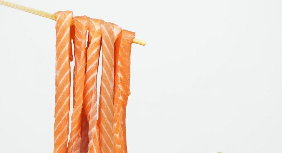 Salmon Sashimi Noodles