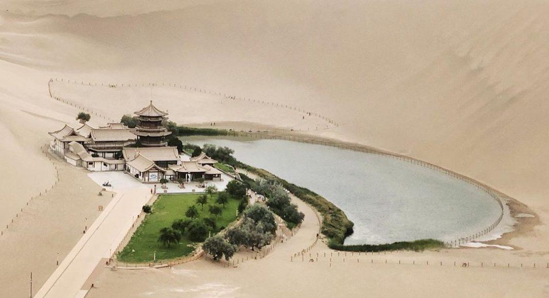 Singing Sand Dunes, Gan Su, China