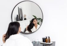 Concept,Of,Natural,Beauty,And,Haircare,Treatment,At,Home.,Young